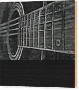 Acoustic Guitar Musician Player Metal Rock Music Strings Wood Print