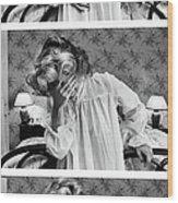 Actress Joan Hackett Portrait Session Wood Print