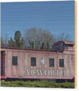 Acworth Ga Wood Print