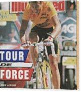 Adr Agrigel Greg Lemond, 1989 Tour De France Sports Illustrated Cover Wood Print