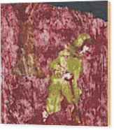 After Billy Childish Painting Otd 7 Wood Print