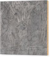 After Billy Childish Pencil Drawing 1 Wood Print