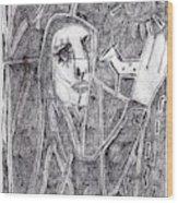 After Childish Edgeworth Pencil Drawing 10 Wood Print