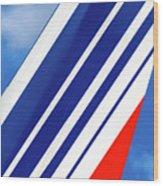 Air France 777 1 Wood Print