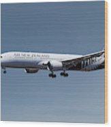 Air New Zealand Boeing 787-9 Dreamliner Wood Print