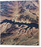 Air View Of The Grand Canyon Wood Print