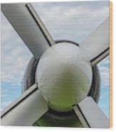 Aircraft Propellers. Wood Print