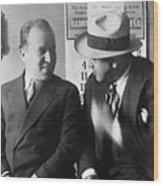 Al Capone And Benjamin Epstein Wood Print