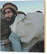 Al Qaeda Routed From Tora Bora Wood Print