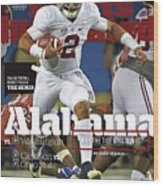 Alabama Why The Tide Will Win It, 2016 College Football Sports Illustrated Cover Wood Print