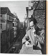 Albert Camus Wood Print