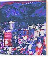 Albuquerque Wood Print