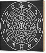 Alchemical Sigil Wood Print