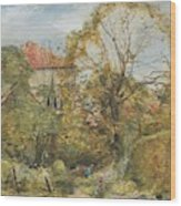 Alexander Fraser, The Younger, October's Workmanship To Rival May Wood Print
