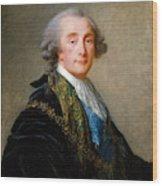 Alexandre Charles Emmanuel De Crussol Florensac        Wood Print