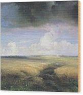 Alexei Savrasov - Rye Wood Print