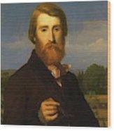 Alfred Bruyas Wood Print