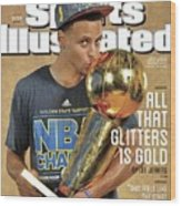 All That Glitters Is Gold Sports Illustrated Cover Wood Print