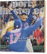 All The Way Chicago Has A New G.o.a.t. Sports Illustrated Cover Wood Print