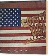 American Coyote Ugly Wood Print