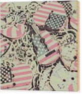 Americana Audio Wood Print