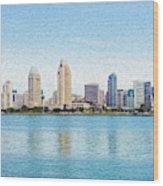 Americas Finest City Wood Print