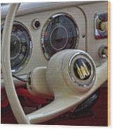 Amphicar 770 Car Boat Wood Print