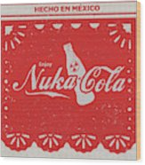 An Ice Cold Nuka Cola - Fallout Universe Wood Print