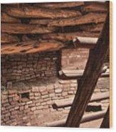 Anasazi Home Wood Print