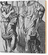 Ancient Greek Music Wood Print