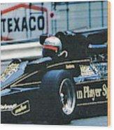 Andretti Monaco 78 Wood Print