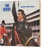 Angel Cordero, 1976 Kentucky Derby Sports Illustrated Cover Wood Print