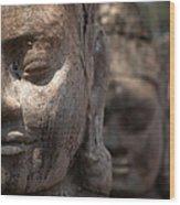 Angkor Warriors Wood Print