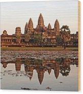 Angkor Wat - Siem Reap - Cambodia Wood Print