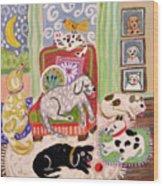 Animal Family 1 Wood Print