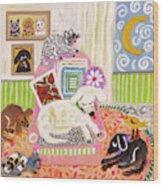 Animal Family 2 Wood Print