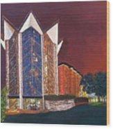 Anniversary Chapel Wood Print