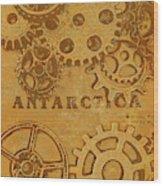 Antarctech Wood Print