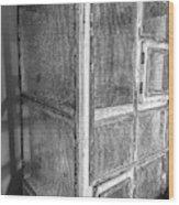 Antique Bird Cage Wood Print