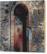 Appia Antica Porta Wood Print