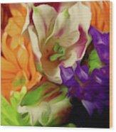 April Memories Wood Print