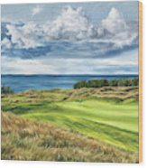 Arcadia Bluffs Wood Print