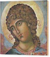 Arch Angel Wood Print