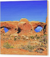 Arches Moon Eye Wood Print