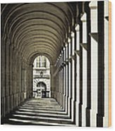 Arches Of Grand Theatre Wood Print