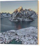 Arctic Sunset Wood Print