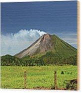 Arenal Volcano - Costa Rica Wood Print