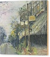 Argenta This Is Not Alices Restaurant Wood Print