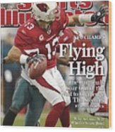 Arizona Cardinals Qb Kurt Warner, 2009 Nfc Championship Sports Illustrated Cover Wood Print