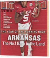 Arkansas Darren Mcfadden, 2007 College Football Preview Sports Illustrated Cover Wood Print